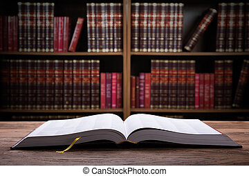 打開, 特寫鏡頭, 書, 法律