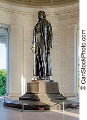 托馬斯, 華盛頓, jefferson, dc, 紀念館