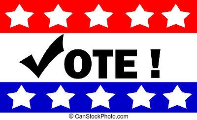 投票, 插圖