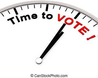 投票, 時間