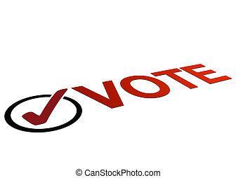投票, 遠景, 簽署