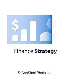 投資, 金融, 收入, 期限, 長, 經紀人, 成長, 服務, 文件夾, 報告, 表現, personalized, 市場, 股票