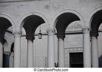 拱, neo古典, 行