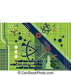 拼貼藝術, 科學, 技術