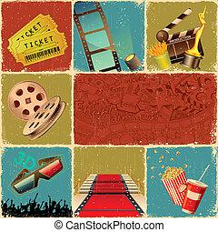 拼貼藝術, 電影