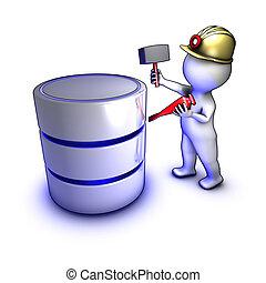 提取, 數据, 概念, 字, 資料庫