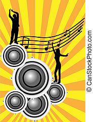 插圖, 摘要, 音樂