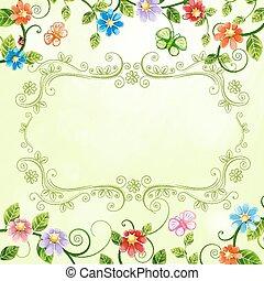 插圖, 植物