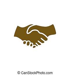 握手, 圖象
