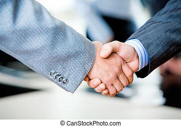 握手, businesspeople