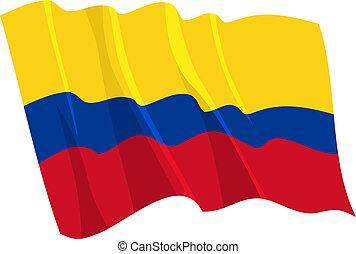 搖動旗, 政治, 哥倫比亞