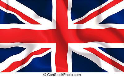 搖動旗, 英國