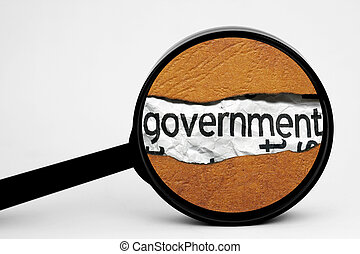 搜尋, 政府