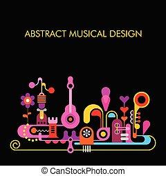 摘要設計, 音樂