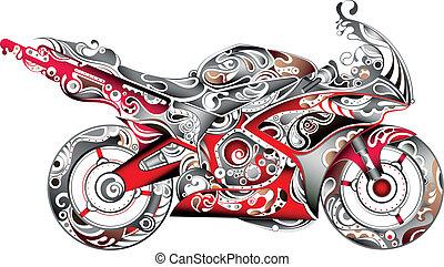 摘要, 摩托車
