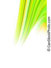摘要, 綠色, 能量, 轉動