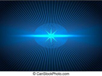 摘要, 線, 遠景, 藍色, 概念, 未來, 連接, 點燃, 黑暗, 技術, 背景。, 未來
