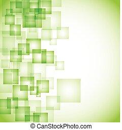 摘要, 背景, 綠色, 廣場