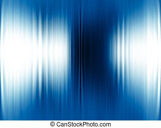 摘要, 藍色的背景, 金屬, v