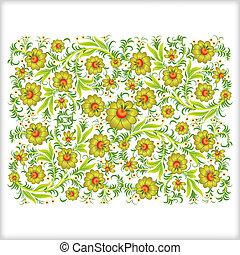 摘要, 裝飾品, 被隔离, 背景, 植物, 白色