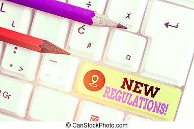政府, 新, 概念, 正文, 寫, 做, 控制, 意思, 規則, 預訂, 書法, done., regulations., 某事