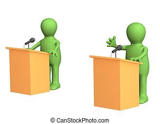 政治, 辯論