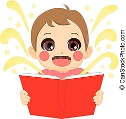 故事, 仙女, 閱讀, 孩子