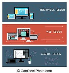 敏感, 网, 平面造型設計, 設計