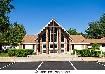 教堂穿過, 外部, 現代, 大