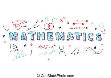 數學, 詞, 插圖