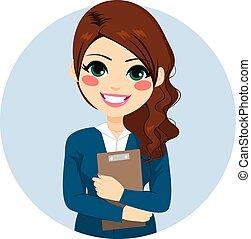 文件夾, 從事工商業的女性, 藏品