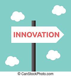方向, 革新, 路標