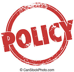 方針, 詞, 郵票, 服從, 規則, 政策, 輪, 官員