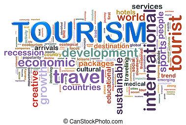 旅遊業, 記號, 詞