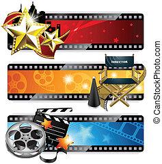 旗幟, 電影院