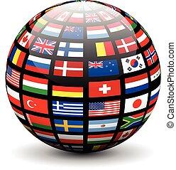 旗, 世界全球