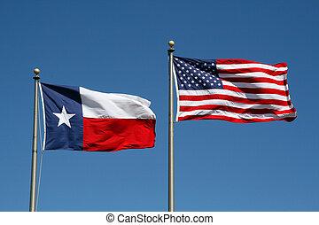 旗, 得克薩斯, 我們