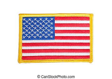 旗, 徽章, 制服, 我們