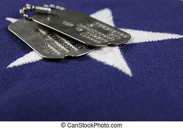 旗, 狗, 記號