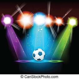 明亮, 球, 背景