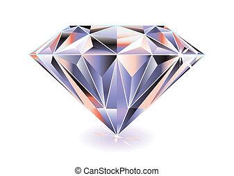 明亮, 鑽石