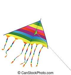 明亮, 風箏