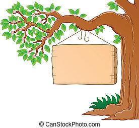 春天, 圖像, 樹3, 主題, 分支