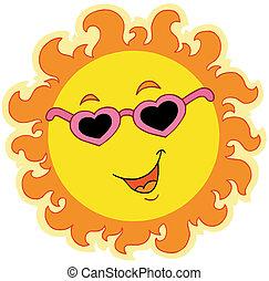 春天, 太陽, 愛, 眼鏡