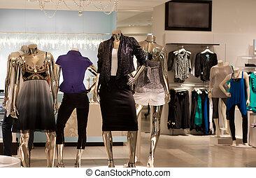 時裝, 商店, 零售