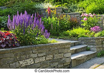 景觀美化, 石頭花園