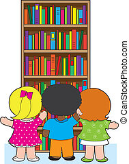 書櫥, 孩子