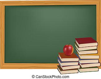 書, 學校, 蘋果