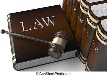 書, 法律, 行, 皮革