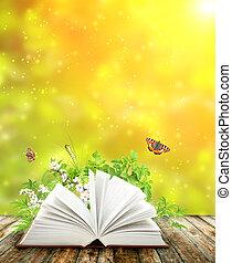書, 自然